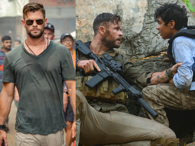Chris Hemsworth S First Look From Extraction Out Netflix Film To Be Out On April 24
