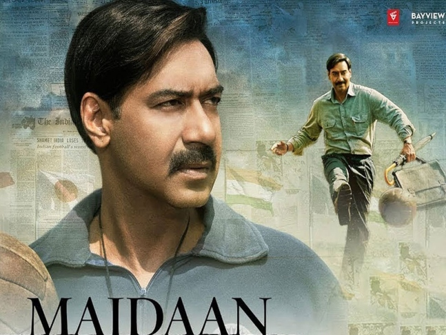 Cyclone Tauktae brings destruction on the sets of Ajay Devgn's Maidaan