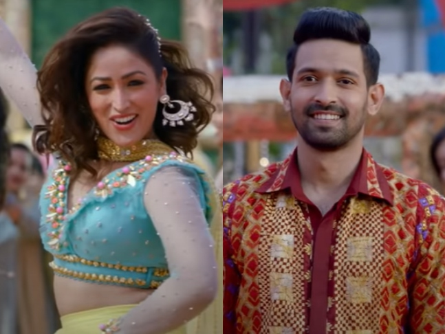 Lol Vikrant Massey Makes An Attempt To Woo India Ki Madonna Yami Gautam In Ginny Weds Sunny S First Song