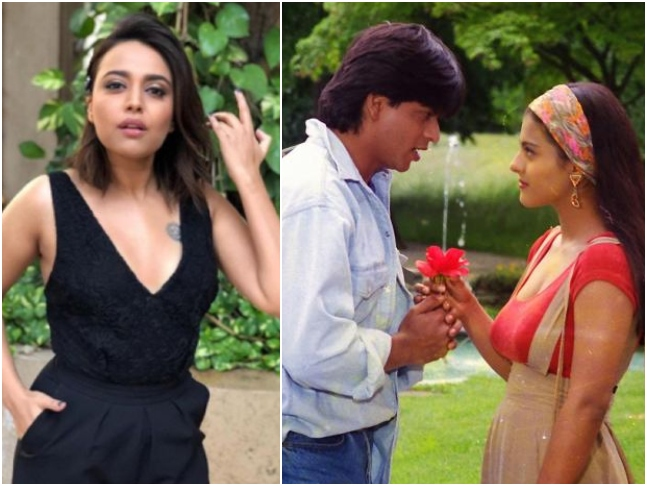 Swara Bhasker agrees to Twitter user's opinion that Shah Rukh Khan's Raj in DDLJ was problematic, says 'we need to learn & change'