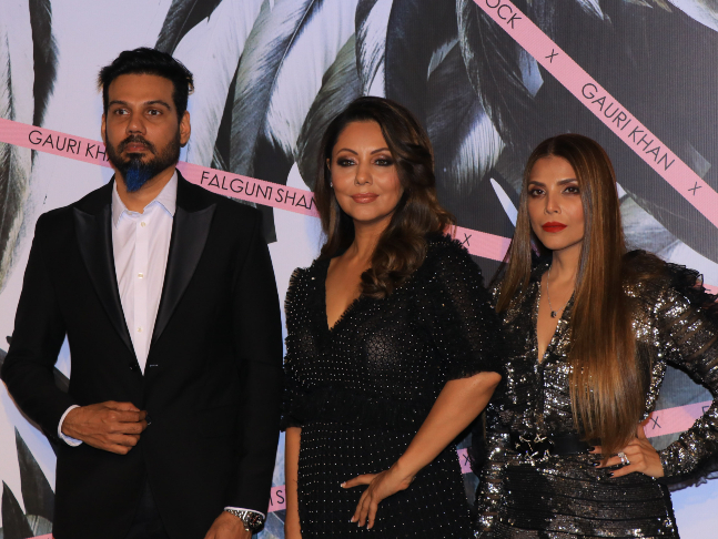 This Is My First Fashion Project Interior Designer Gauri Khan Steps Into The Fashion Space With Falguni And Shane Peacock S Mumbai Flagship Store