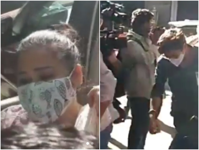 BREAKING: 'Bas puchtach k liye laye hai,' says Bharti Singh as Haarsh Limbachiyaa and she arrive at NCB for questioning in Drugs Case; both detained