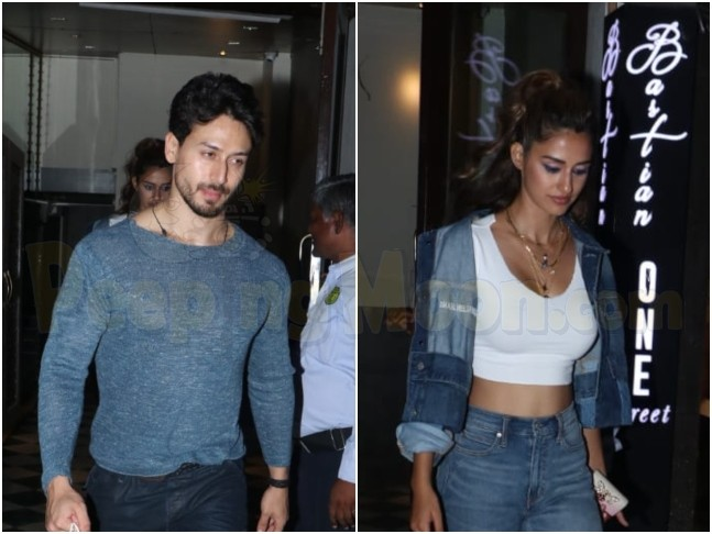Post Bharat promotions, Disha Patani dines out with Tiger Shroff