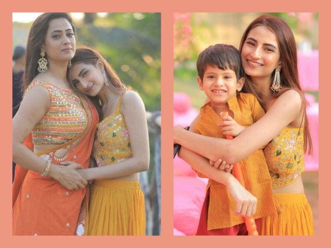 Shweta Tiwari attends a family wedding with children Palak and Reyhansh;  check out inside pictures!