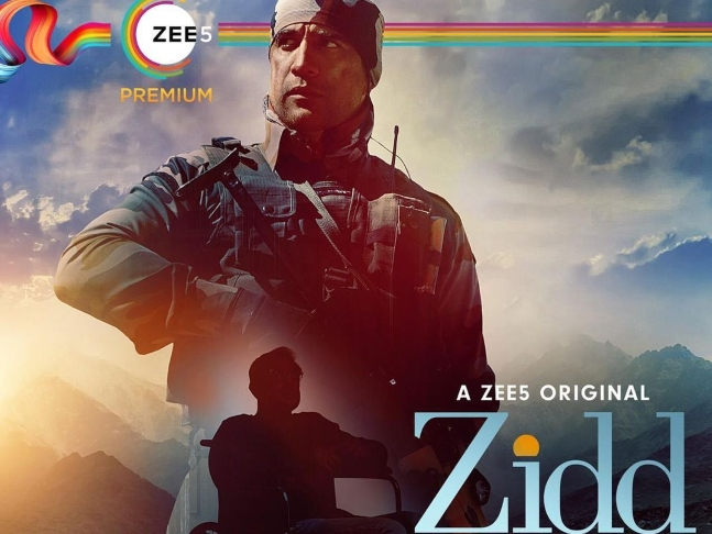 Zidd First Poster: Amit Sadh brings the story of a real-life Kargil hero to web; series to release on January 22, 2021