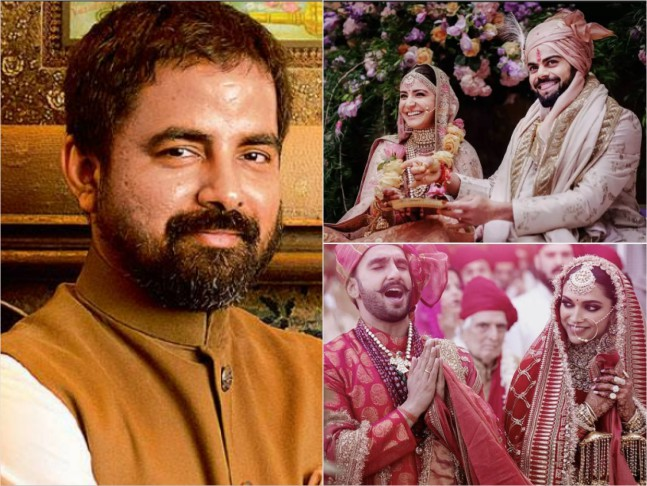Ace Fashion Designer Sabyasachi Reveals 10 Things Only Sabyasachi Will Tell You About Deepika S Ranveer S And Anushka S Virat S Intimate Weddings