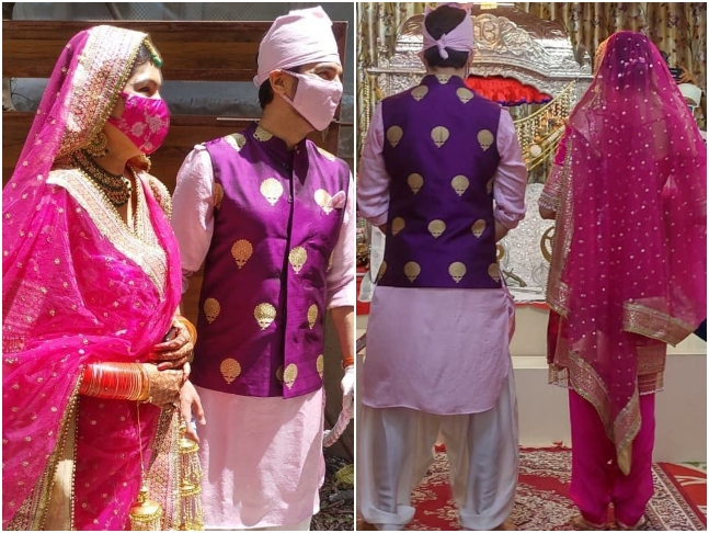Just in: Manish Raisinghan ties the knot with Sangeita Chauhaan in ...