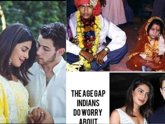 This Viral Post About Priyanka Chopra S And Nick Jonas Age Gap Is