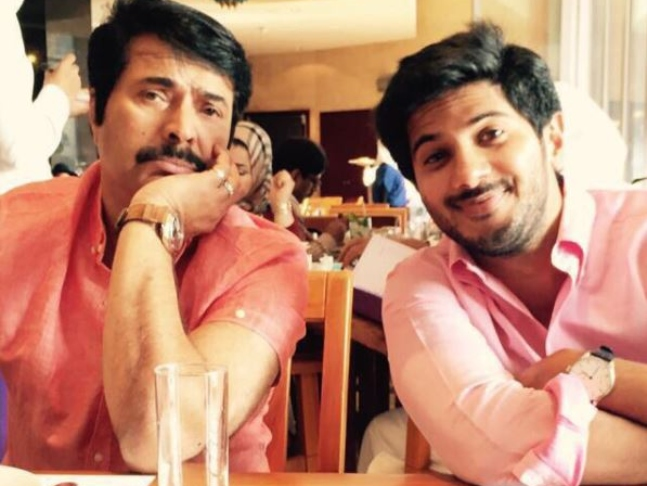 dulquer salmaan sends birthday wish to his dad and superstar mammootty