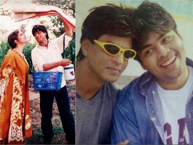 Kjo Narrated Kuch Kuch Hota Hai To Srk On Sets Of Pooja S Chaahat