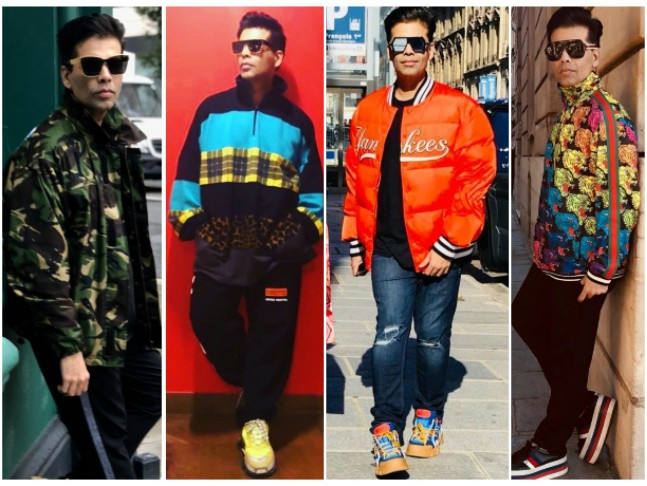 Image result for karan johar different jackets