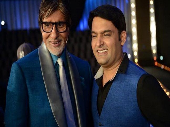 Ace Comedian Kapil Sharma to grace the finale episode of Amitabh