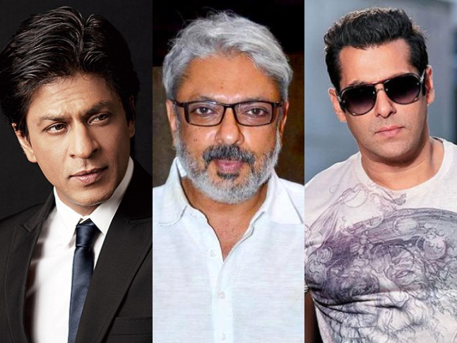 Image result for Shah Rukh Khan & Salman Khan To Reunite For Sanjay Leela Bhansali's Film?