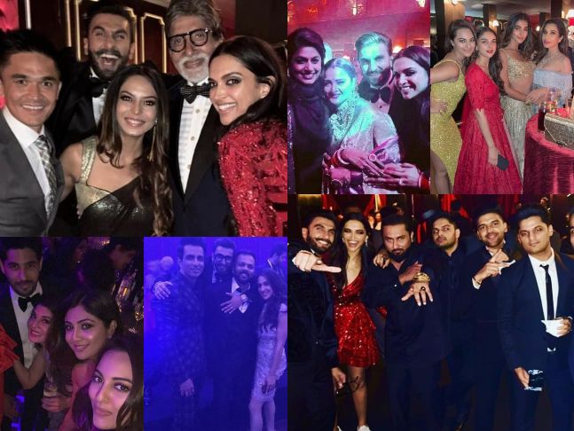 Inside Pictures And Videos From Deepikas Ranveers Wedding Reception