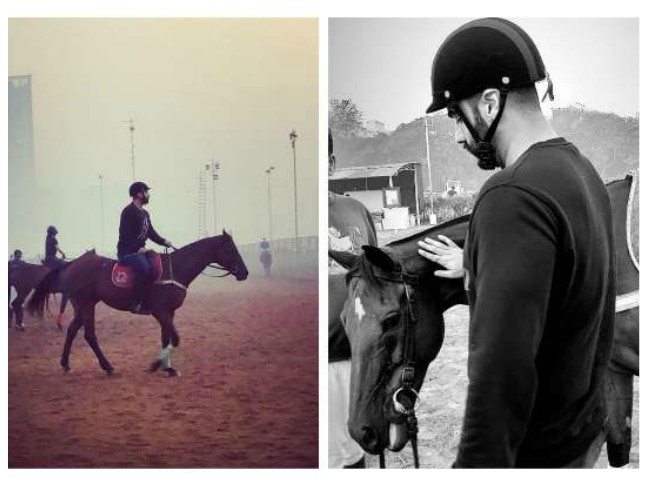 Arjun Kapoor takes horse riding lessons to prep for his