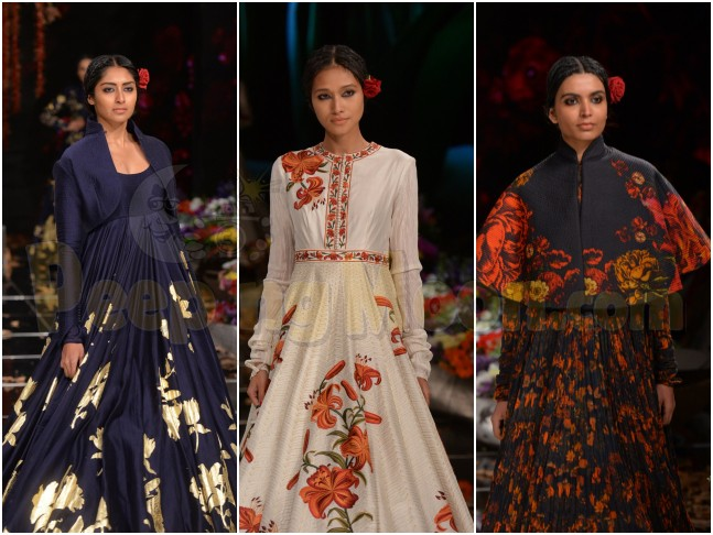 Lakme Fashion Week S R 2019 Rohit Bal S Guldastah From His Kashmir Collection With Usha Silai Will Leave You Mesmerized