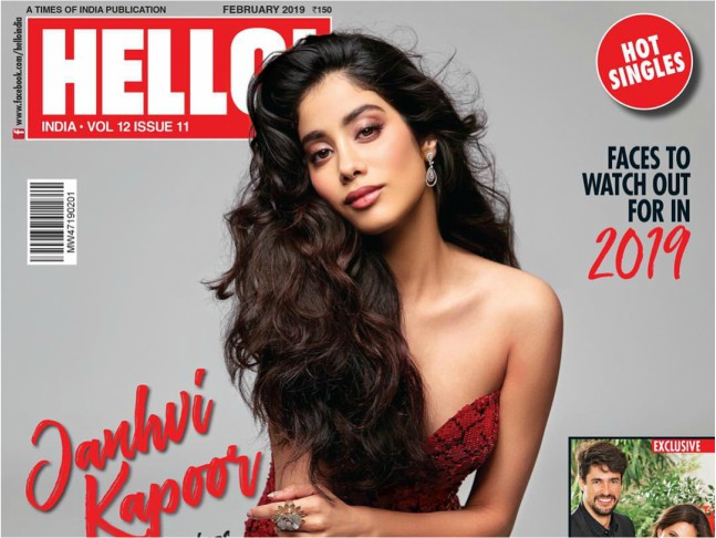Janhvi Kapoor paints the town red as she spreads her wings