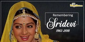 Sridevi firsth death anniversary
