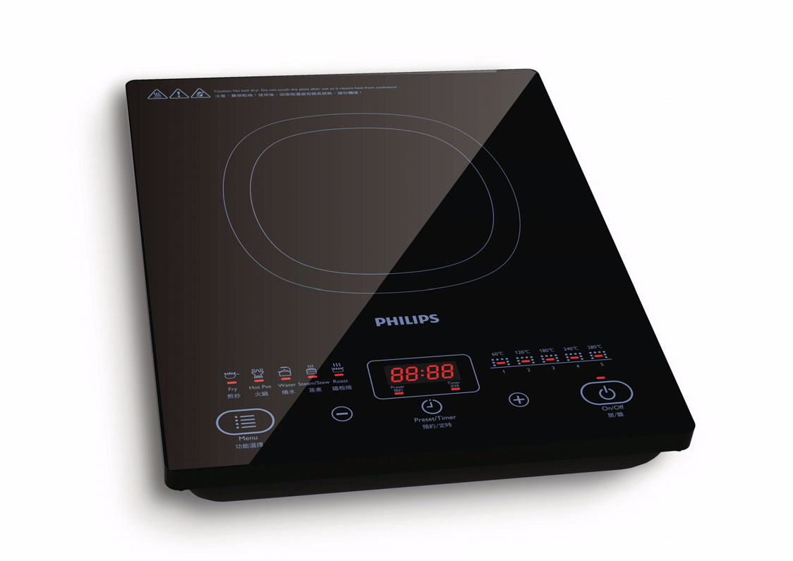Induction cooker philip 28 images philips daily for Table induction
