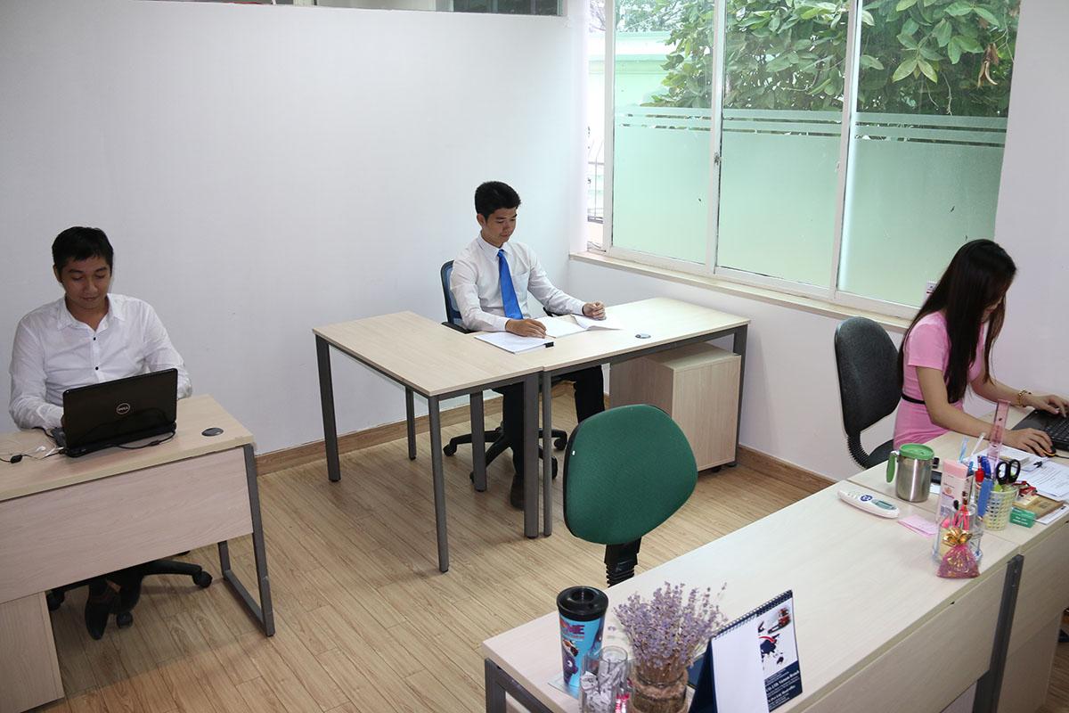 phòng làm việc tại Văn Phòng Ảo Quận 1
