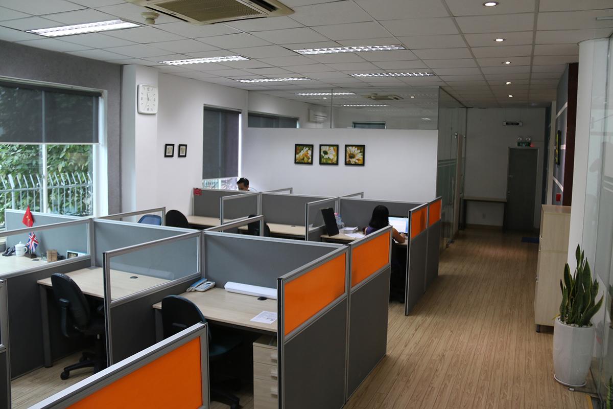 không gian làm việc tại Văn Phòng Ảo Quận 1