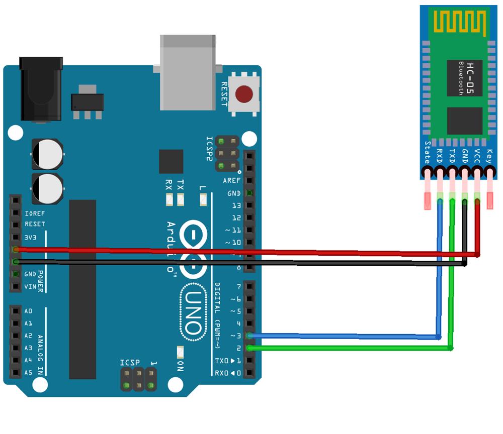 Kết nối Arduino và HC05 kiểm tra AT
