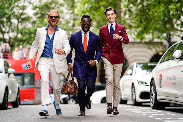 Street style: London Fashion Week Men's SS19