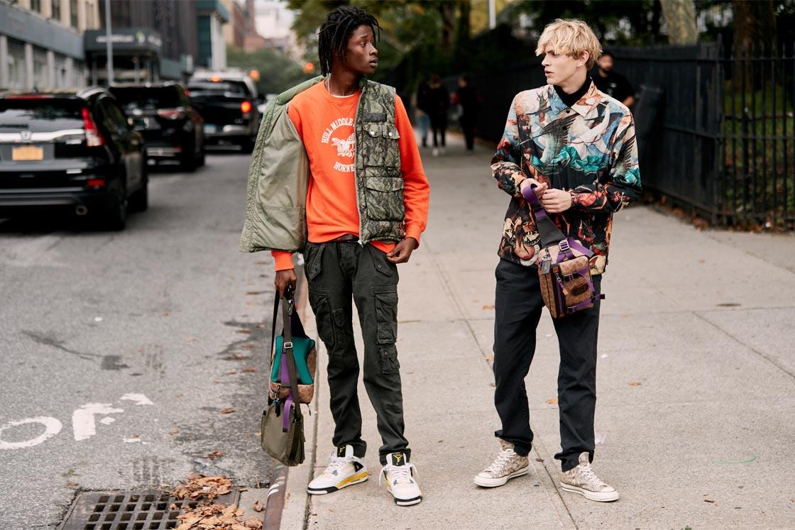 Street style New York Fashion Week SS19