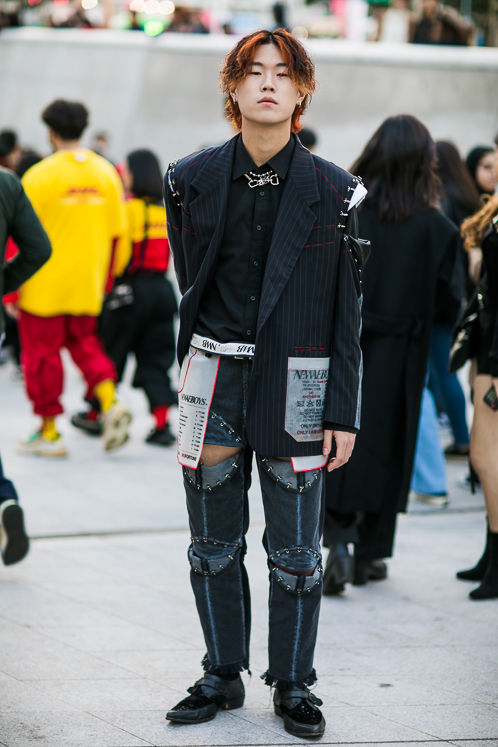 Street Style Seoul Fashion Week Ss19 Esquire Sg