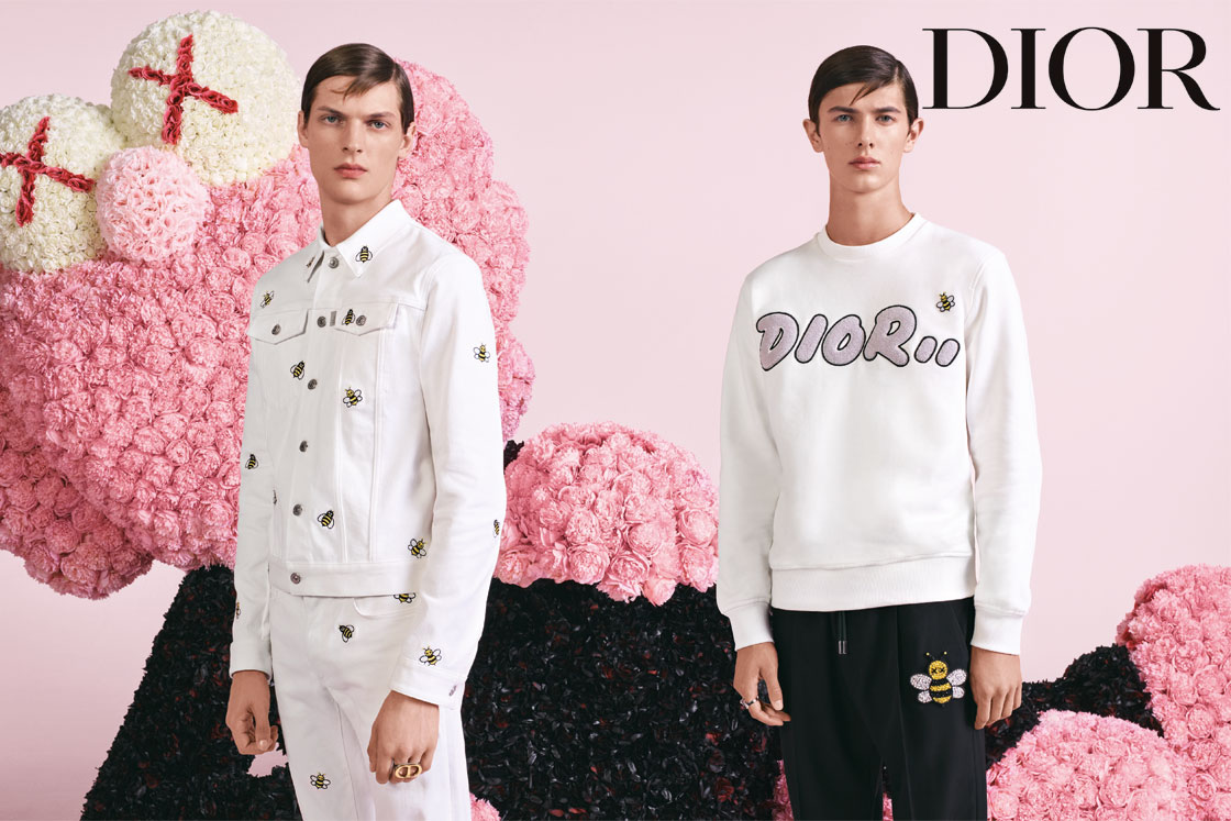 The Dior Men summer 2019 campaign features another massive BFF by ...