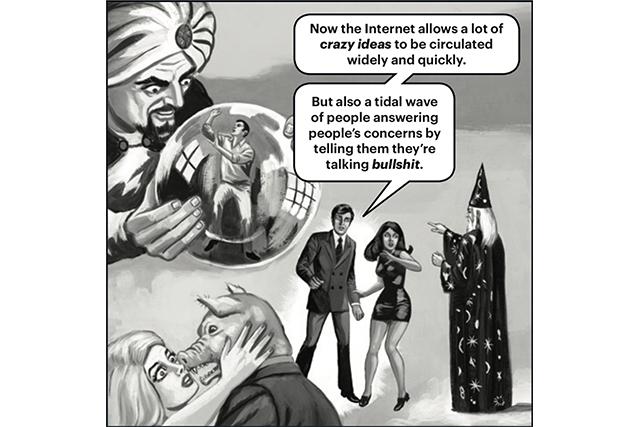 Secret societies and conspiracy theories: The allure of dark