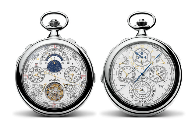 An incredible feat of watchmaking, the 57260 pocket watch by Vacheron Constantin features 57 complications and costs a cool US$8 million