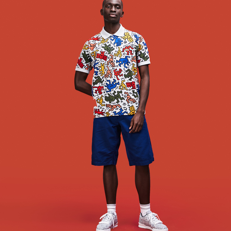 ad8110fdbc99 Keith Haring x Lacoste is the collaboration you never thought you ...