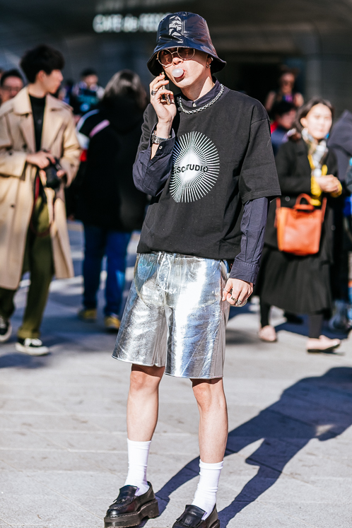 48f5d890adc Best men s street style  Seoul Fashion Week AW19