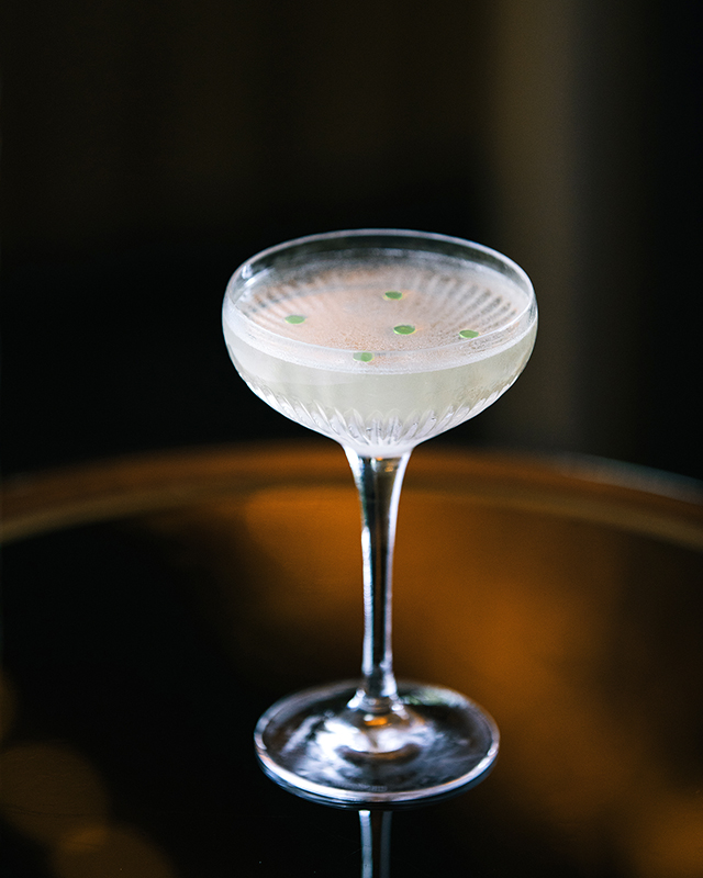 The Spectre Martini cocktail from Atlas bar.