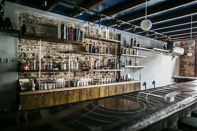 The interior of Native Bar.