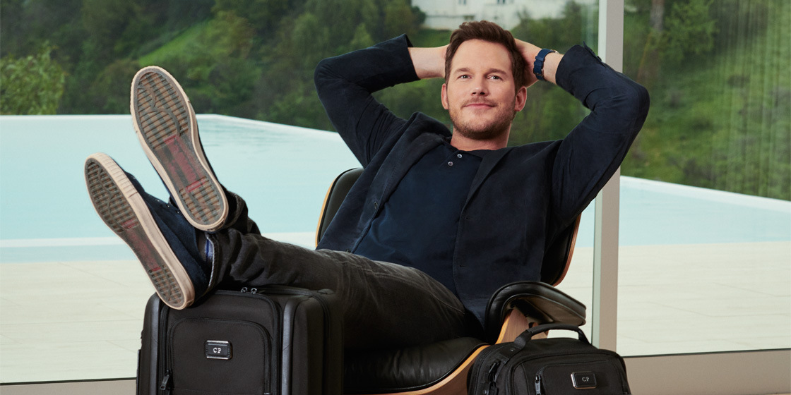 Chris Pratt and Tumi: 10 things to know about the actor's travel habits and his latest campaign with Tumi | Esquire SG