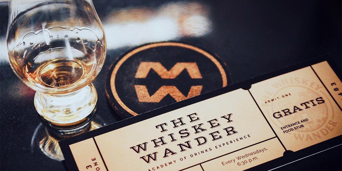 Whiskey Wander by Academy of Drinks will educate you on whiskies from around the world