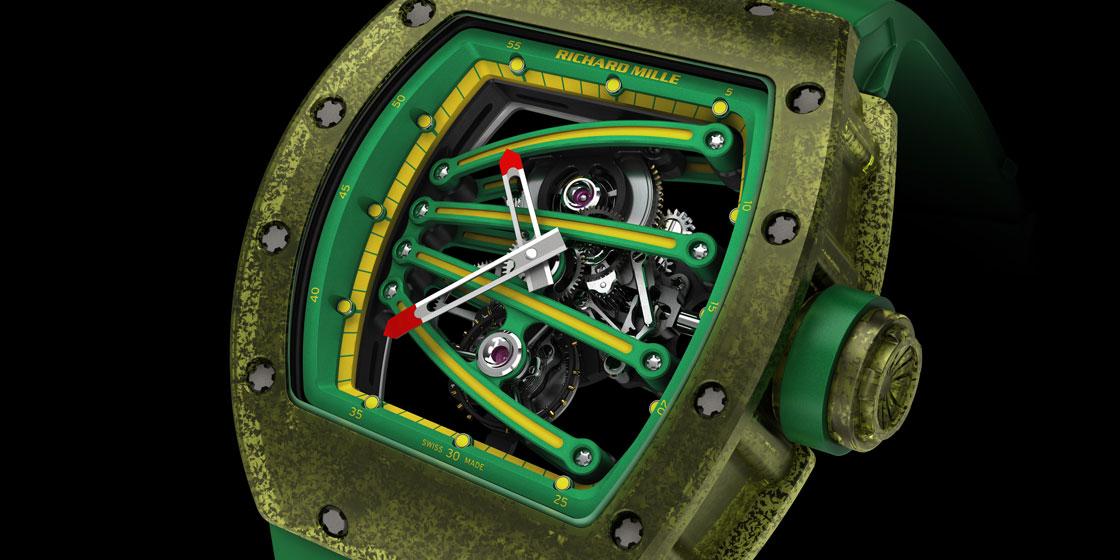 Unusual designs in watchmaking: Richard Mille, Hamilton, Ulysse Nardin