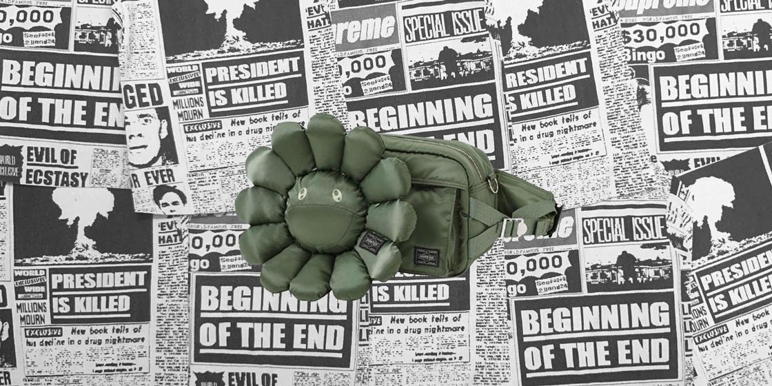 Cop the drop: Takashi Murakami x PORTER belt bag