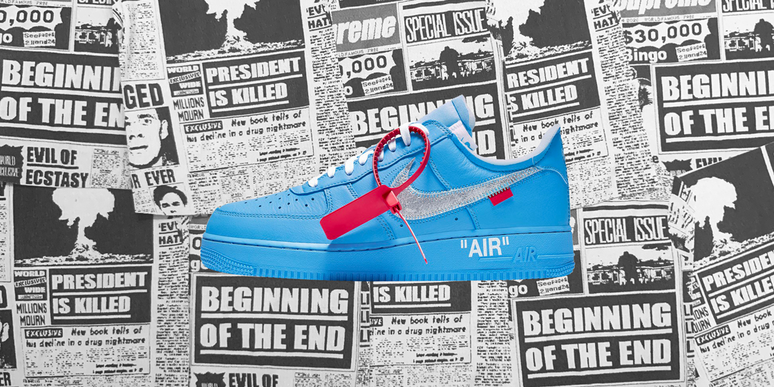 92a39061 Cop the drop: OFF WHITE x MCA Chicago x Nike Air Force 1 '07