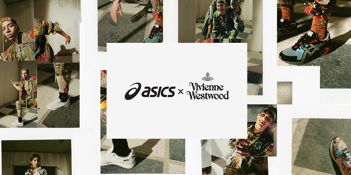 Behold the new collaboration between ASICS and Vivienne Westwood