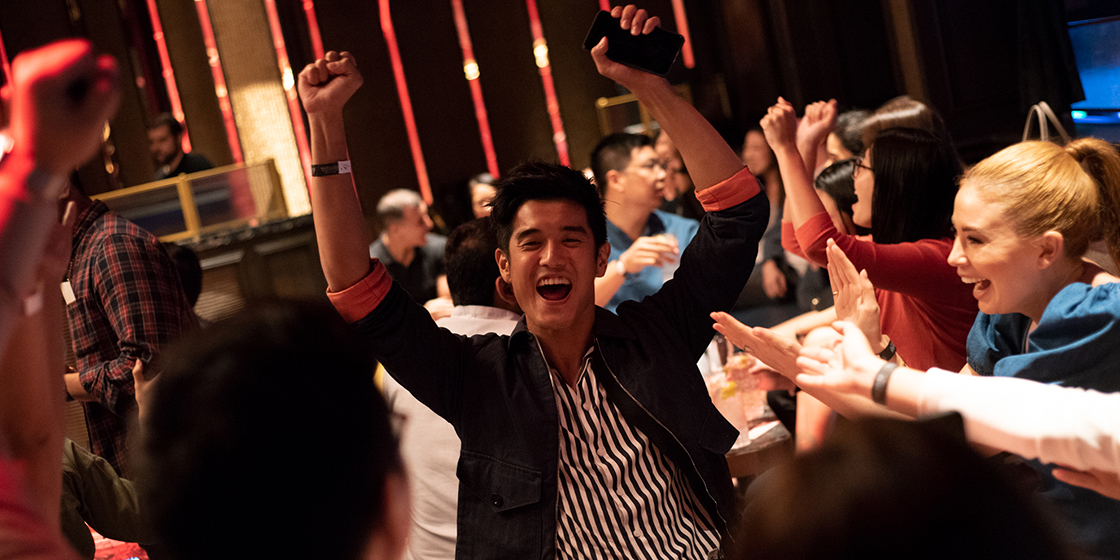 Esquire Singapore's Games Night: Skeeball, bowling, claw machine, and super trivia