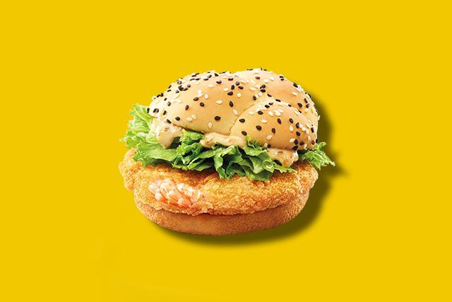 The Snackdown review: McDonald's Ebi Burger & White Choc