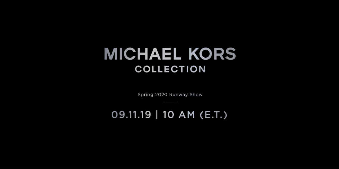 Watch the Michael Kors Collection SS20 fashion show live from New York City