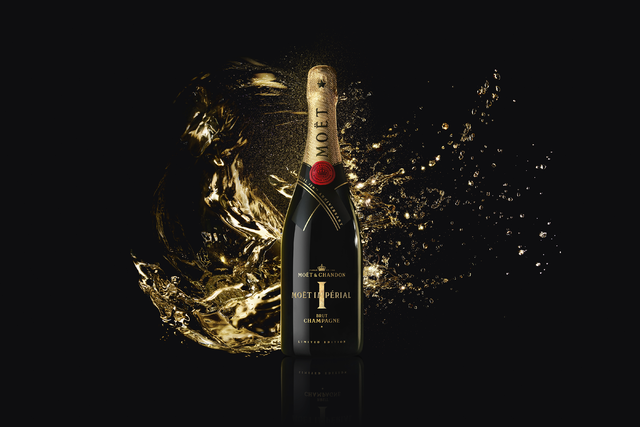 Moët Impérial 150th anniversary limited edition bottle