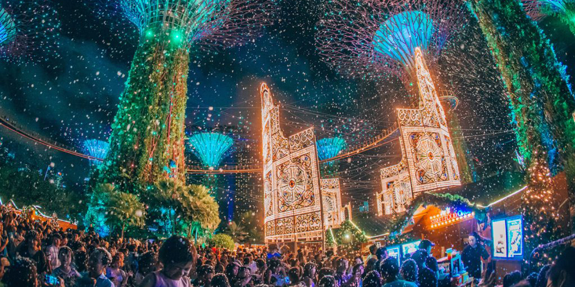 How to feel festive in Singapore