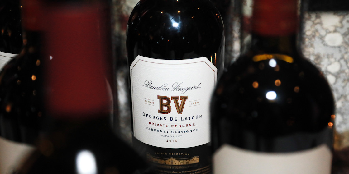 Beaulieu Vineyard hosted an American dinner that pairs well with its wines