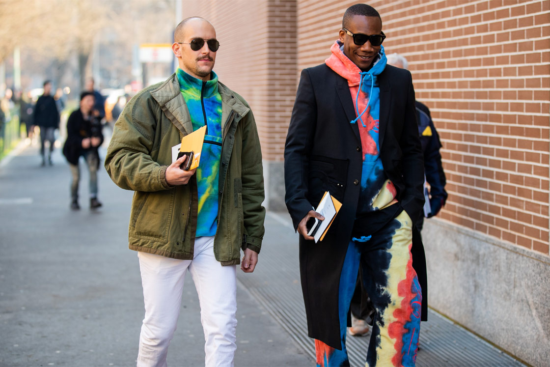 Street Style Milan Fashion Week Men S Aw20 Esquire Sg