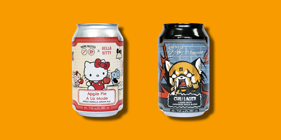 Snackdown review: Hello Kitty and Aggretsuko beer